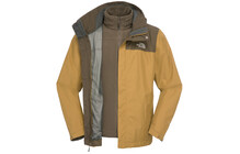 The North Face M Evolve II Triclimate Jacket british khaki/brown